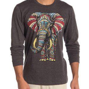 Riot Society Elephant Long Sleeve Top